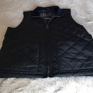 Barbour quilted vest. So cool!!